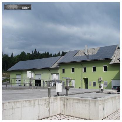 Sončna Elektrarna Komunala Radovljica 95kW