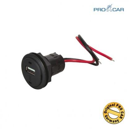 ProCar Vgradna USB vtičnica 12V/5V