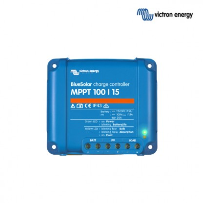 Solarni regulator Victron BlueSolar MPPT 100/015