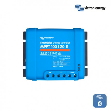 Solarni regulator Victron SmartSolar MPPT 100/020