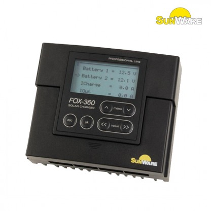 Solarni regulator Sunware FOX 360