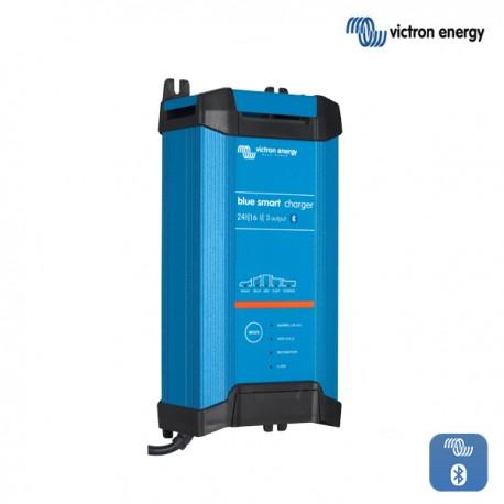 Polnilnik Victron Blue Smart  IP22 2416-3 s tremi izhodi