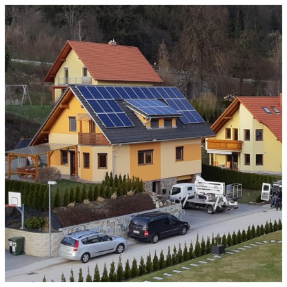 Sončna Elektrarna za Samooskrbo Prevalje 8640W