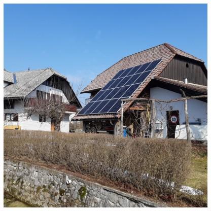 Sončna Elektrarna za Samooskrbo Logatec 6000W