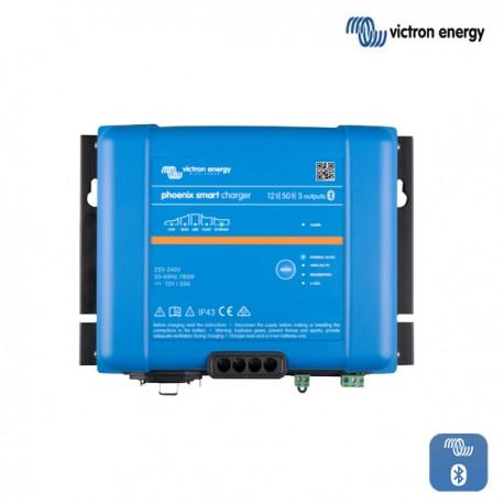 Polnilnik VICTRON Phoenix Smart  IP43 12V 50A s tremi izhodi
