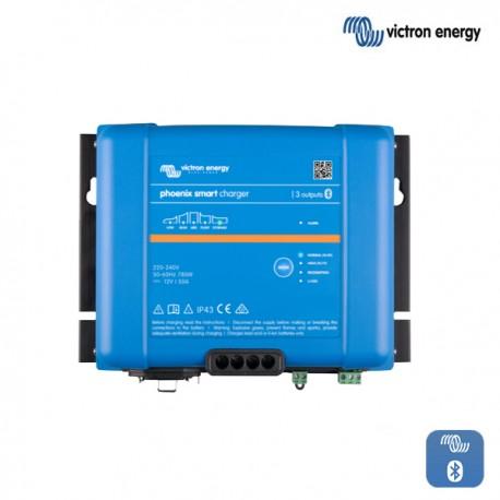 Polnilnik VICTRON Phoenix Smart  IP43 24V 16A s tremi izhodi