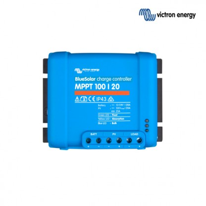 Solarni regulator Victron BlueSolar MPPT 100/020